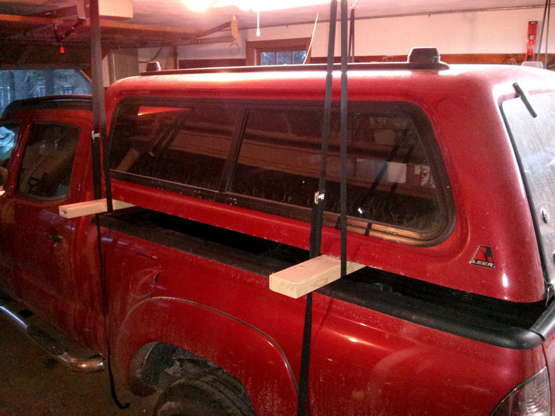 Cheap Truck Shell Hoist For Low Ceiling Garage Tacoma World