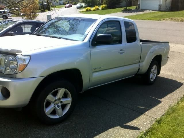 How Do My New Rims Look On A 2007 Toyota Tacoma 5 Lug