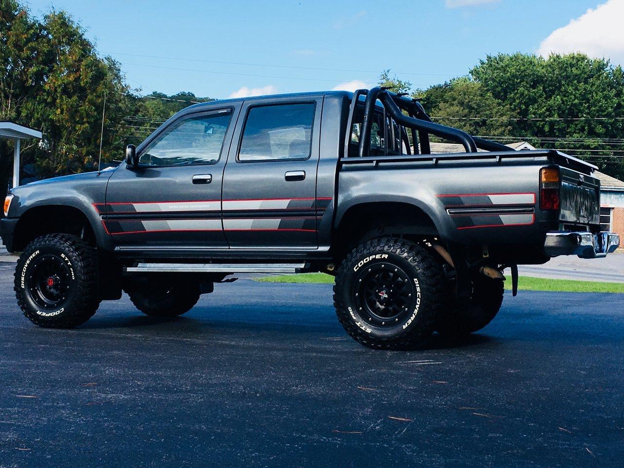 1991 Toyota Hilux 4x4 Build Tacoma World