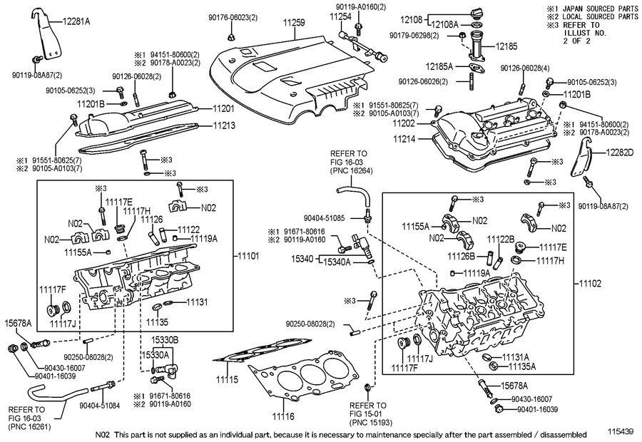 Toyotum 1gr Fe Engine Diagram