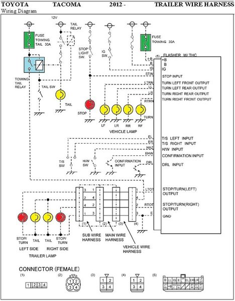 2012 wiring change? tacoma world 2011 toyota tacoma wiring diagram at bayanpartner.co