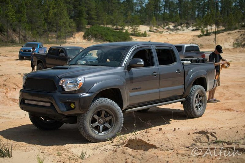 2 75 Lift Fit 33 Inch Tires On 2013 Toyota Tacoma Trd Off Road