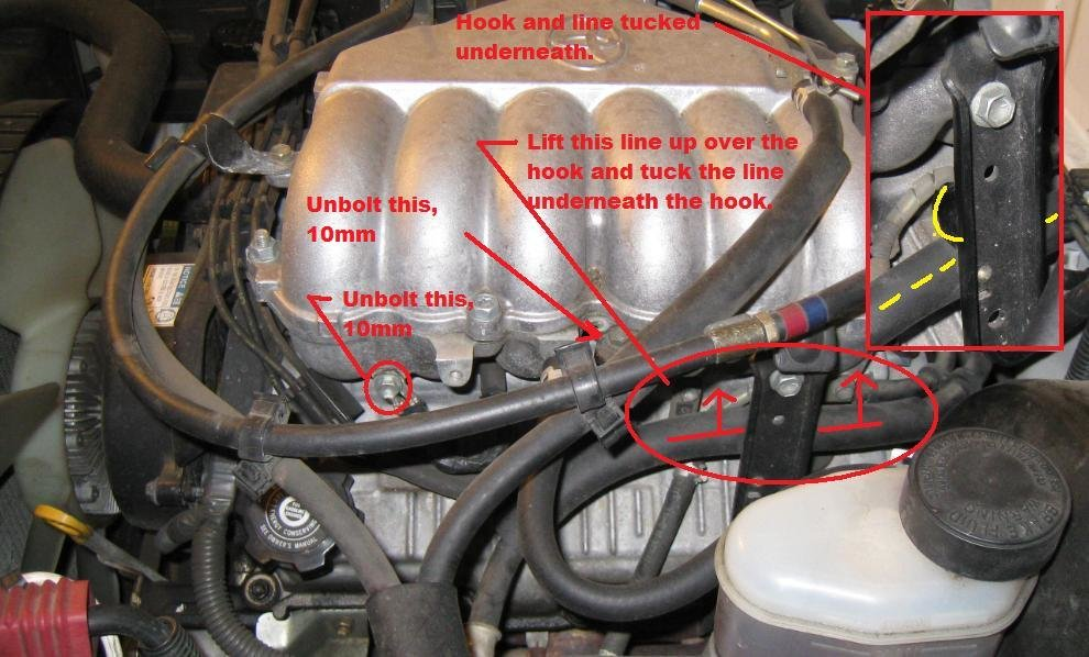 how to replacing spark plugs and wires on 5vz fe 3 4 v6 tacoma 99 Accord Wiring Diagram at mifinder.co