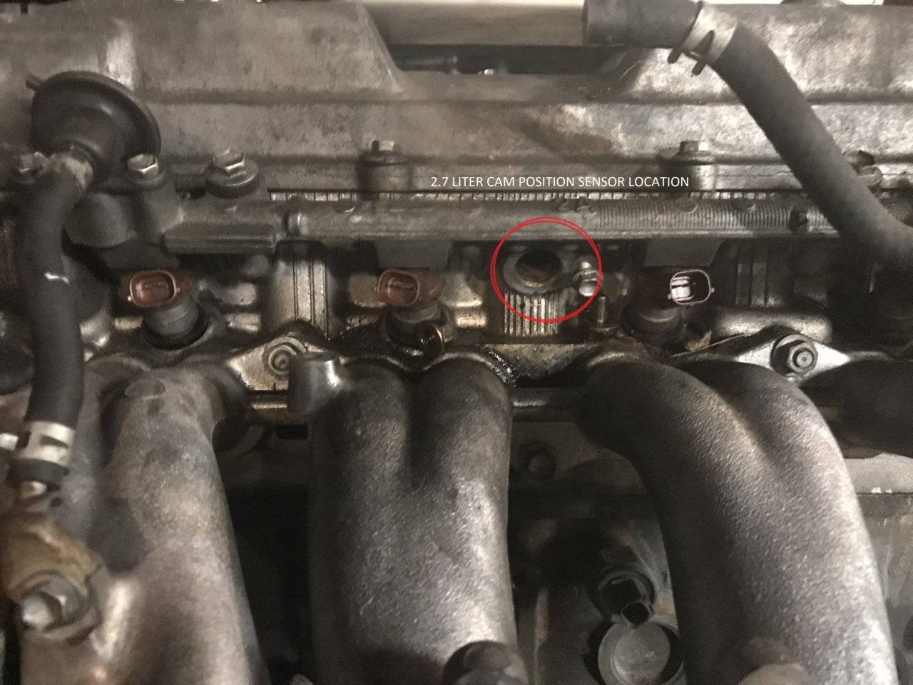 Missing Camshaft Position Sensor | Tacoma World