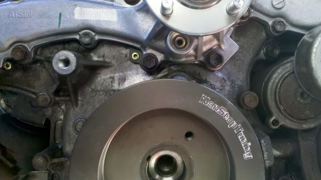 Diy 2nd Gen Water Pump Replacement Tacoma World