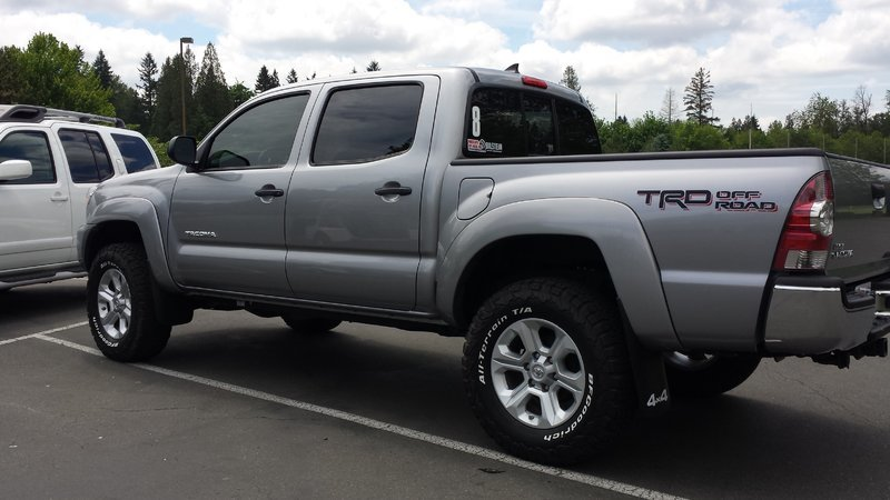 2016 4runner Sr5 Or Trail Wheels On A Second Gen Tacoma