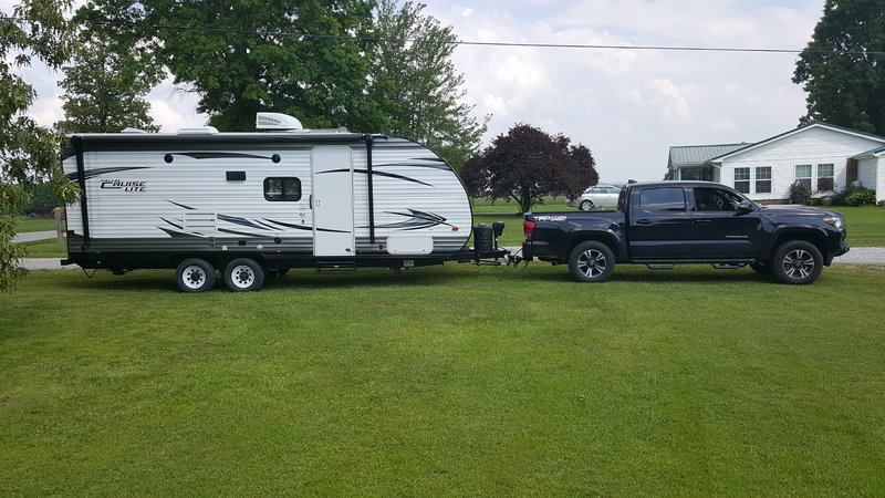 towing travel trailer with 2016 tacoma tacoma world. Black Bedroom Furniture Sets. Home Design Ideas