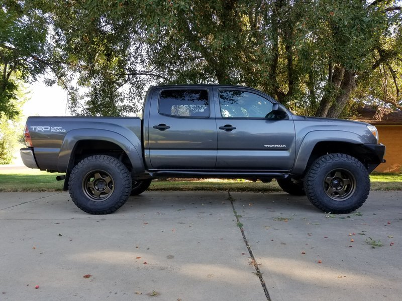 Any Trimming Needed On A 285 75 R16 With A 3 Inch Lift Tacoma World