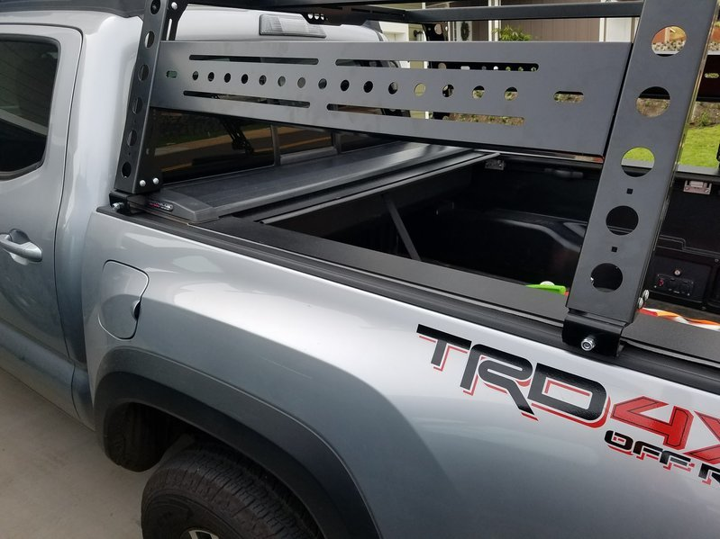 Kb Voodoo Bed Rack And Tonneau Brackets Tacoma World