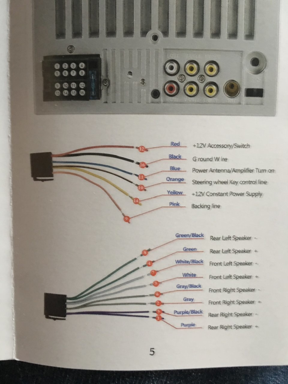 need 2008 stereo wiring diagram tacoma world 4 wire trailer wiring diagram troubleshooting repair guides