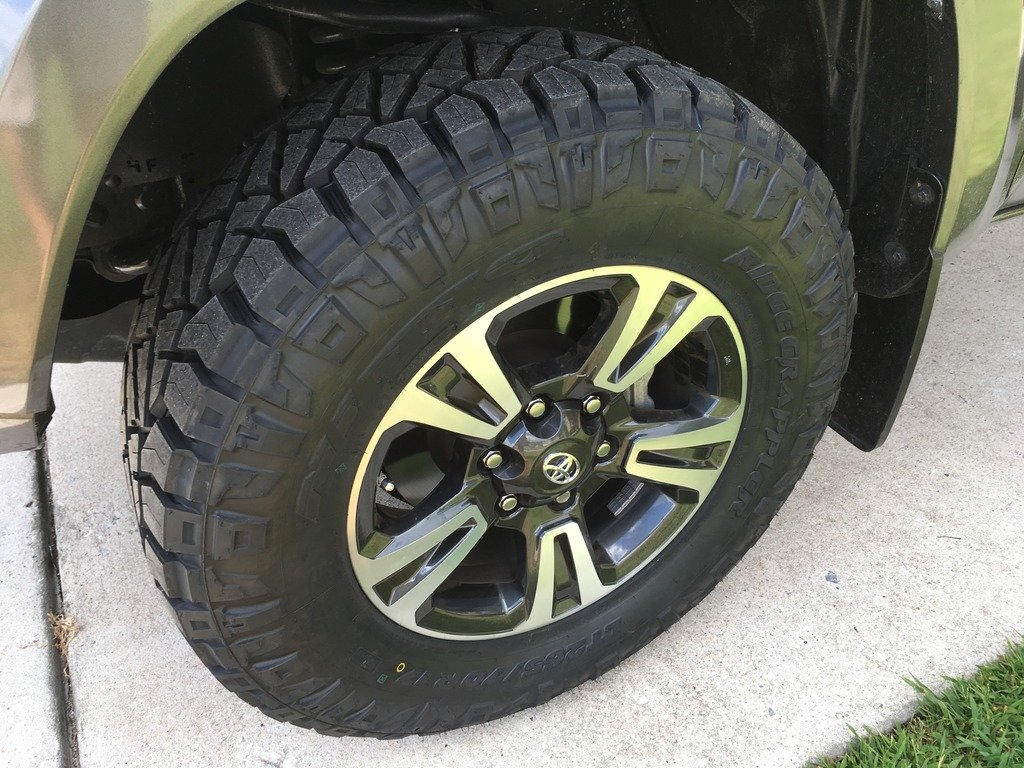 2016 TRD Sport with Nitto Ridge Grapplers | Tacoma World