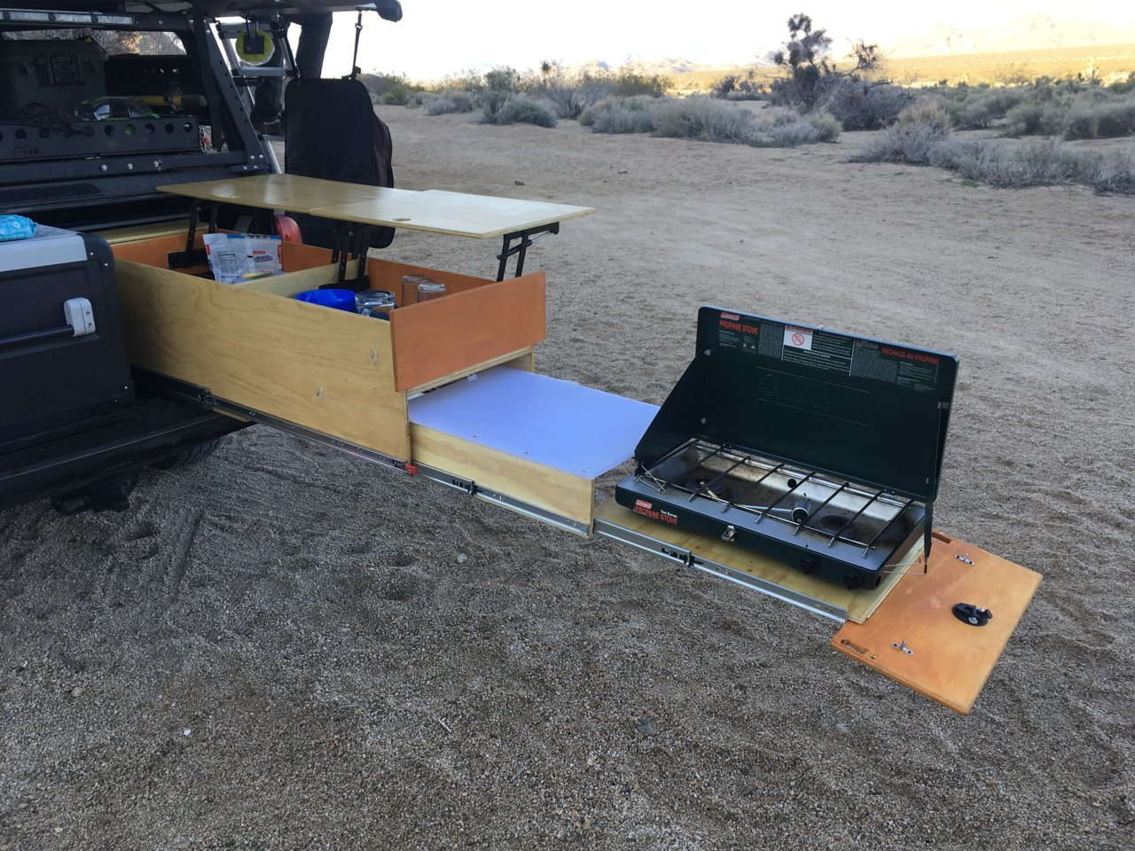 Overland Drawer Build Diy Camping Drawers Pic Heavy Thread Tacoma World