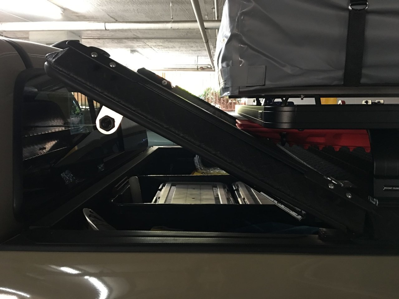 DiamondBack HD Cover opens with bed rack on top.jpg