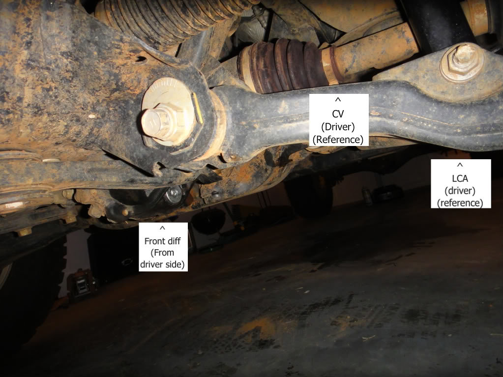 Front Diff And Transfer Case Oil Change Howto Tacoma World