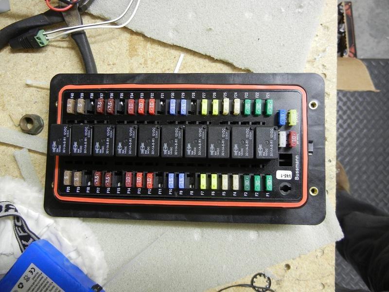 Diy Fuse Box Car : Diy build and install a bussmann rtmr fuse relay block