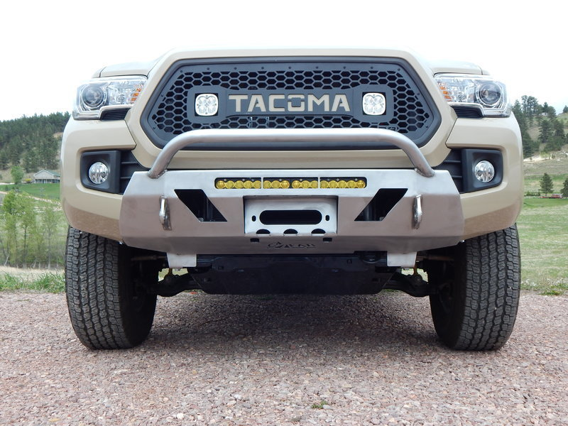 Show Us Your Winch Bumpers Tacoma World