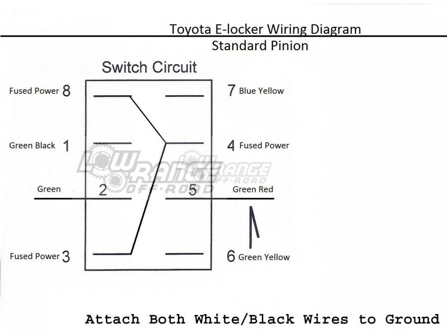 e locker swap write up (easy way!) tacoma world toyota e locker wiring diagram at bakdesigns.co
