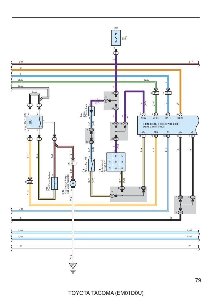 Wiring Diagram For Fuel Pump