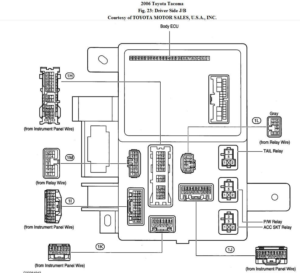 2012 Fuse Box Diagram - tapping for LED mirror signals | Tacoma WorldTacoma World