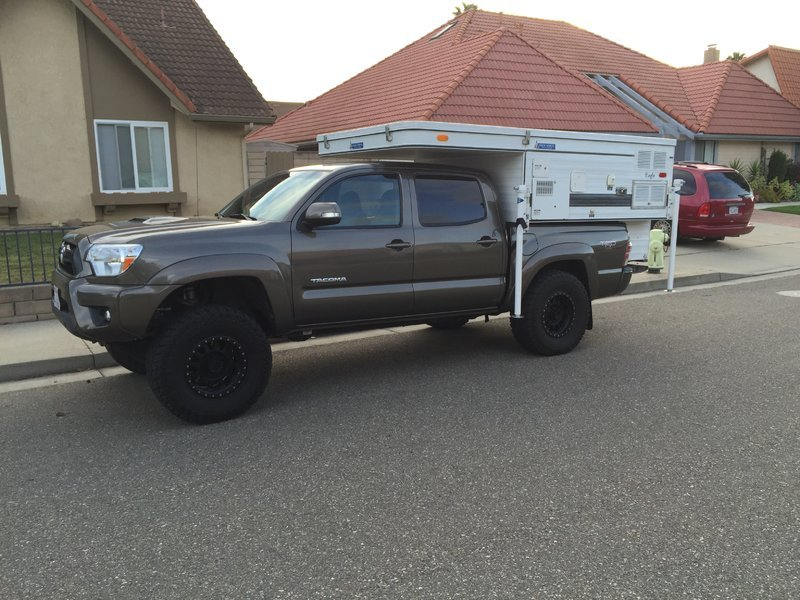 four wheel pop-up campers on tacomas | Tacoma World