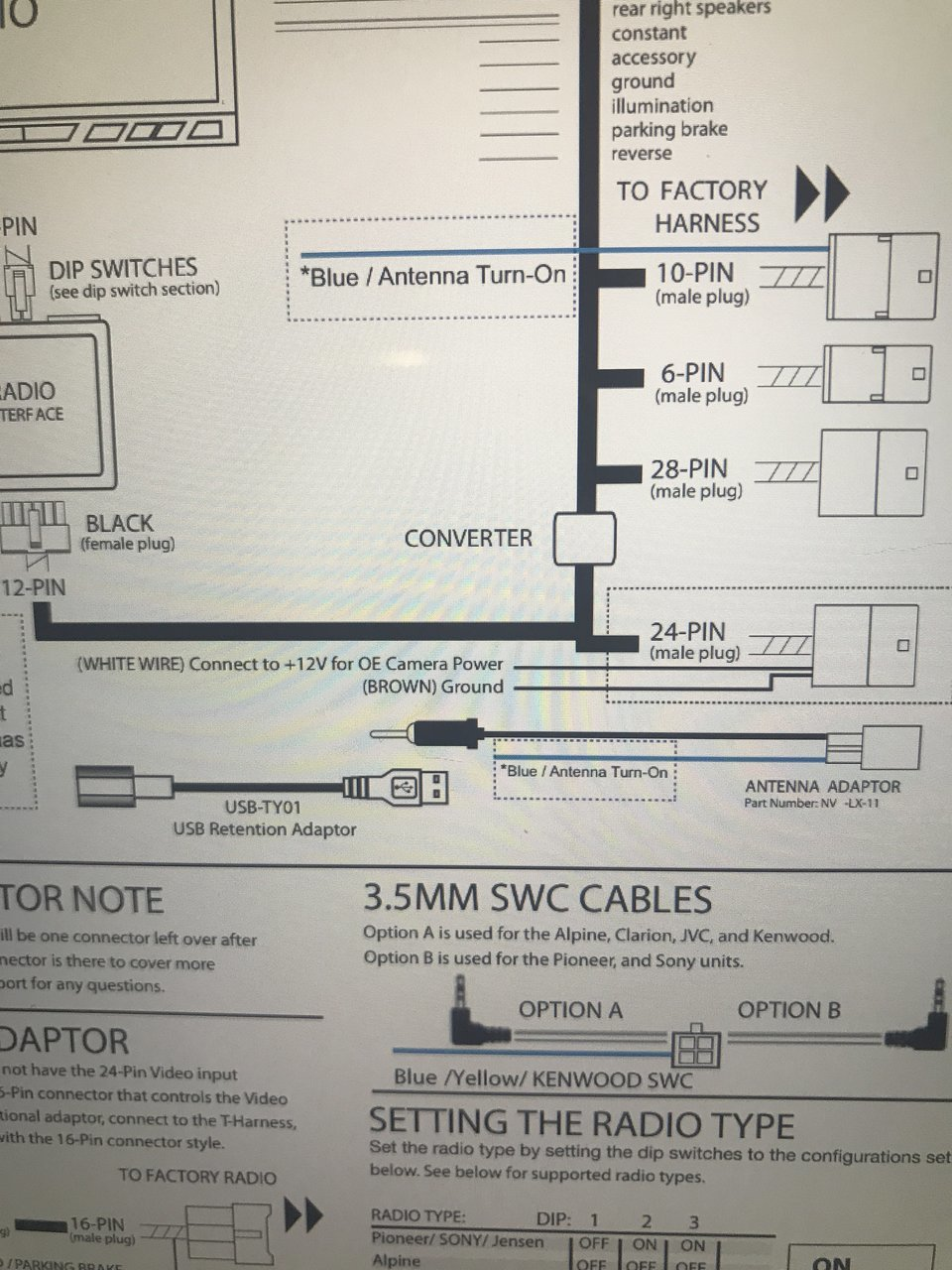 New Pioneer Install No Video On Backup Cam Tacoma World 12v Male Plug Wire Diagram Image