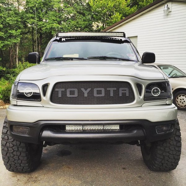 42 U0026quot  Curved Light Bar W   Relentless Fab Brackets