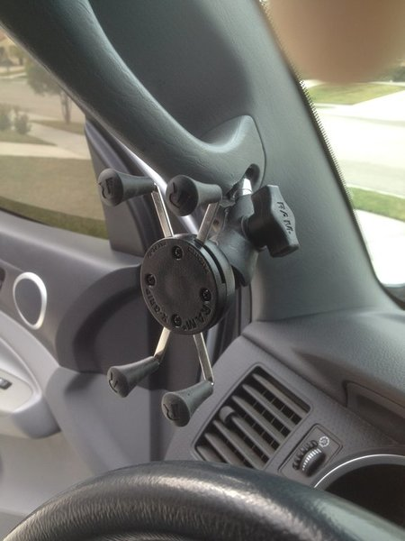 Mod A Pillar Ram Mount Gps Phone Holder Page 6 Tacoma