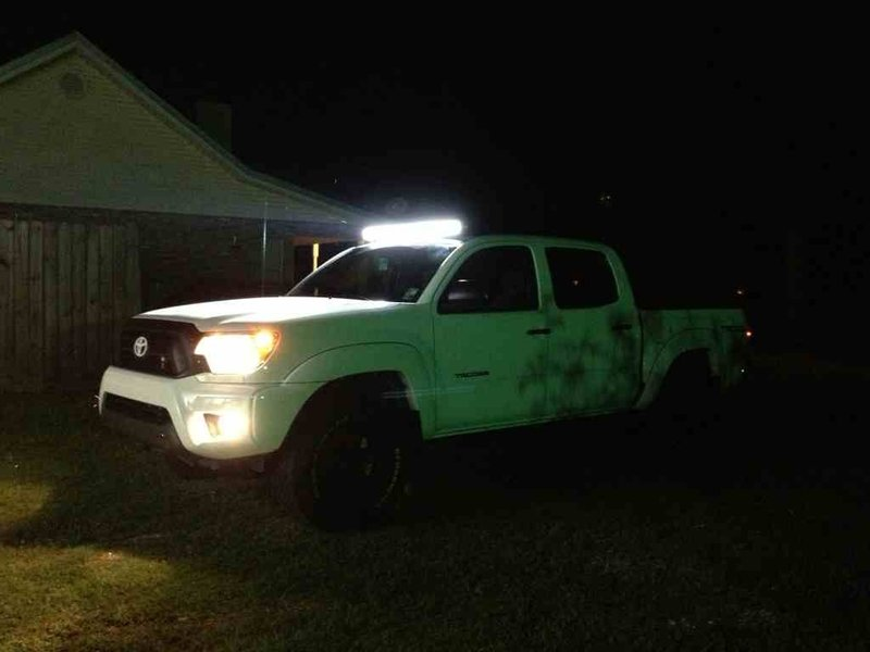 xxxxxxx led light bar install finished xxxxxxxx tacoma world rh tacomaworld com Whelen Light Bar Wiring Diagram Simple Light Bar Wiring Diagram