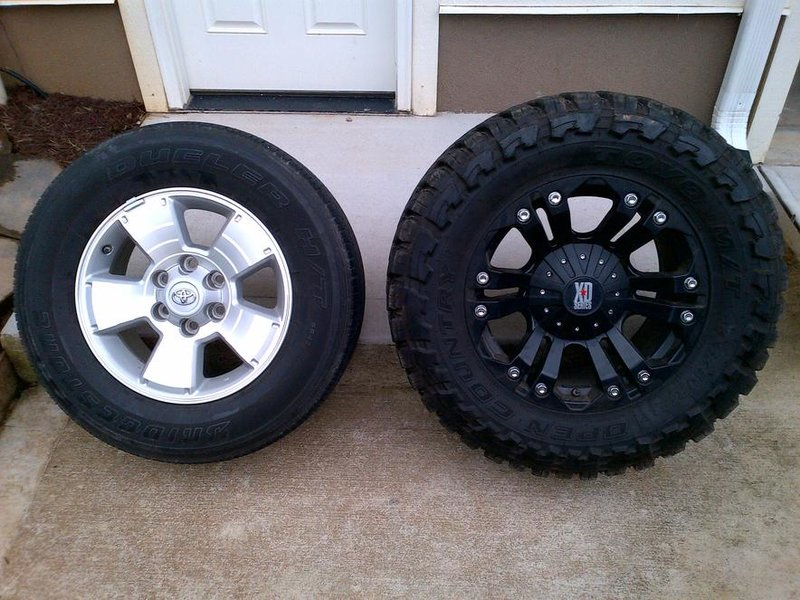 Wheel Size Tacoma World