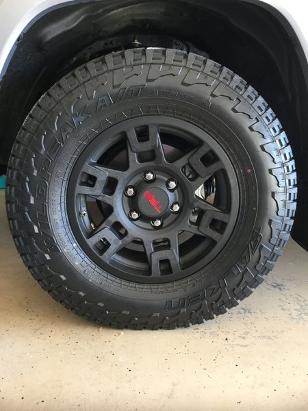 2017 Tacoma Trd Pro >> TIRE Help - What's The Best Aggressive AT C Load Range 265/75/16? | Page 12 | Tacoma World