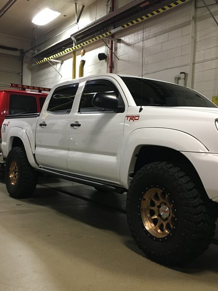 "SHOW ME YOUR ""TACOMA"" DEBADGED ON THE DOOR 