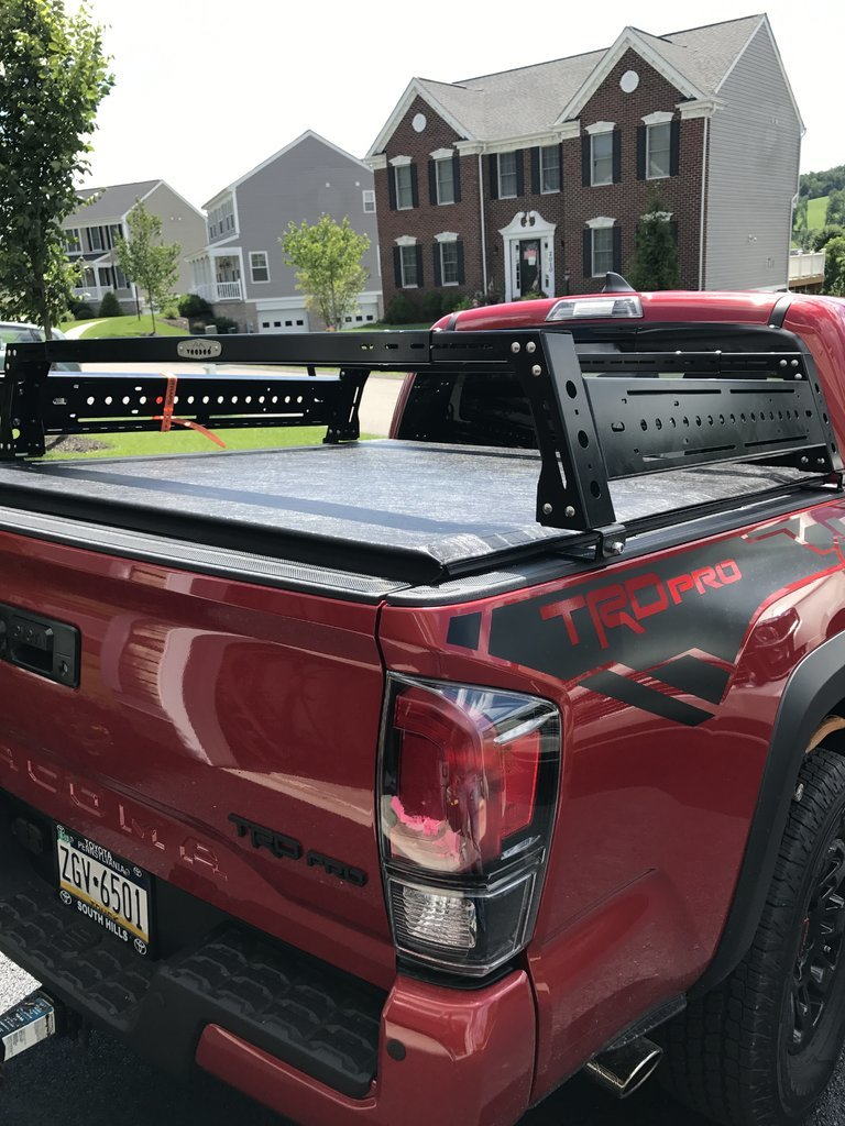 Bed Rack With Tonneau Tacoma World