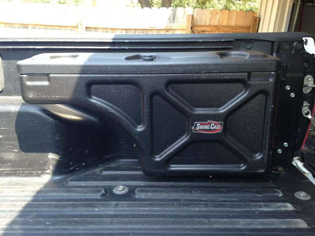 Swing Case Over Wheel Well Truck Tool Box Tacoma World