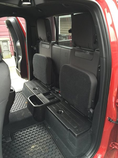 Removing rear seats and back panel from 2016 Access Cab | Tacoma World
