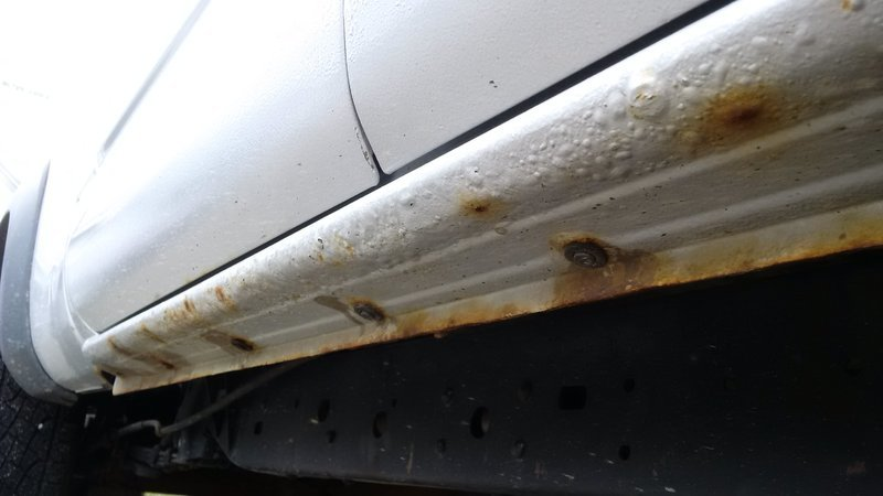 2nd gen tacoma rust: rocker panels | Tacoma World