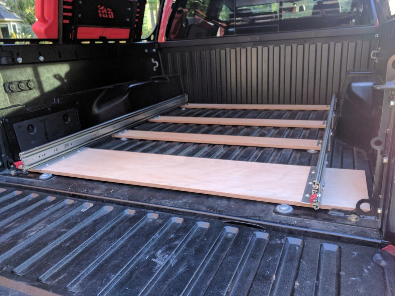 Project Diy Truck Bed Pullout Kitchen And Bs Tacoma World