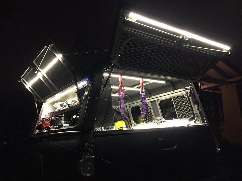 led lighting for inside camper shell tacoma world rh tacomaworld com