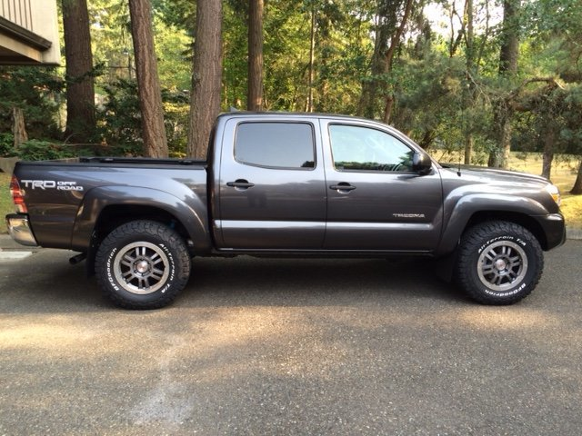 Trd 17 Quot Forged Rock Warrior Beadlock Style Wheels On A