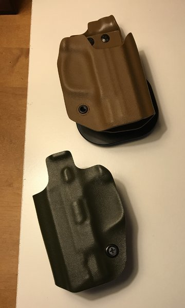 M&P shield  45 IWB and OWB kydex holsters | Tacoma World