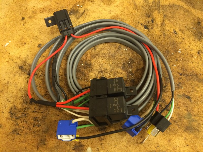 heavy duty headlight wiring harness   35 wiring diagram