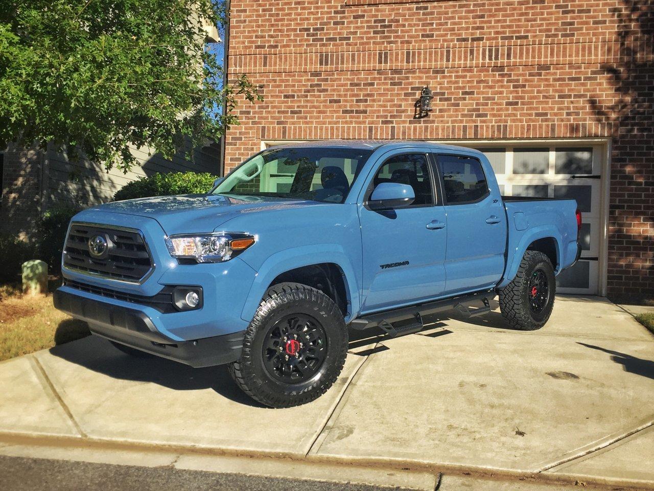 Blue Toyota Tacoma >> New Cavalry Blue Sr5 Tacoma World