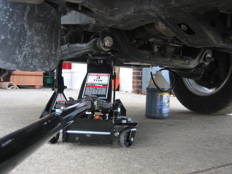 Where to place jack and jack stands under truck? | Tacoma World