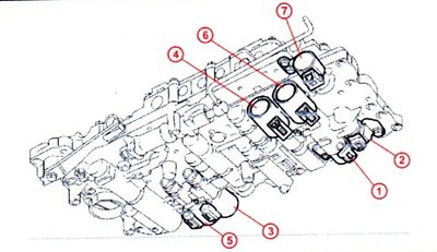 Location of tcc solenoid on toyota sequoia transmission solenoid e transmission 5 speed automatic write up with pics for second gen 4 m toyota 5 1g fandeluxe