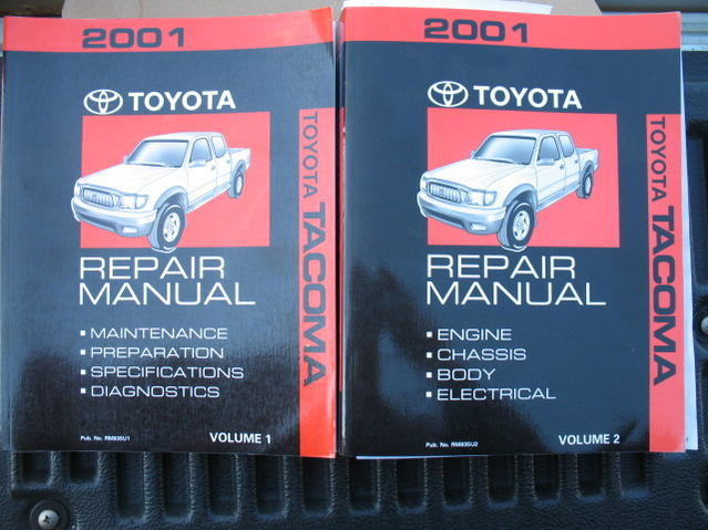 2001 2004 factory auto trans repair manual tacoma world rh tacomaworld com Toyota Tacoma Wheels 2000 Toyota Tacoma AC PDF