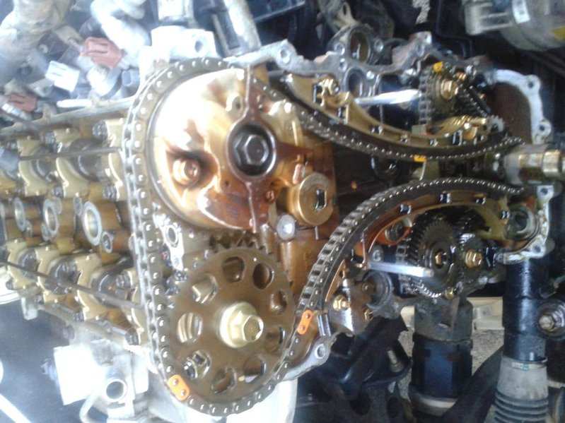 2006 tacoma 2.7 timing chain replacement