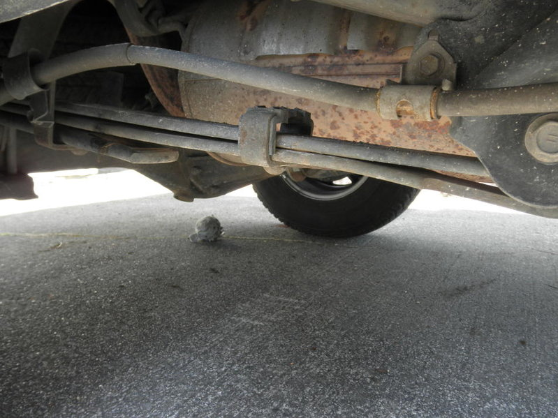 Leaf Springs Flat Or Bent What Does This Mean Tacoma World