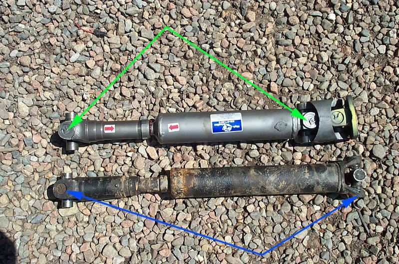 Proper drive shaft phase (double cardan)? | Tacoma World