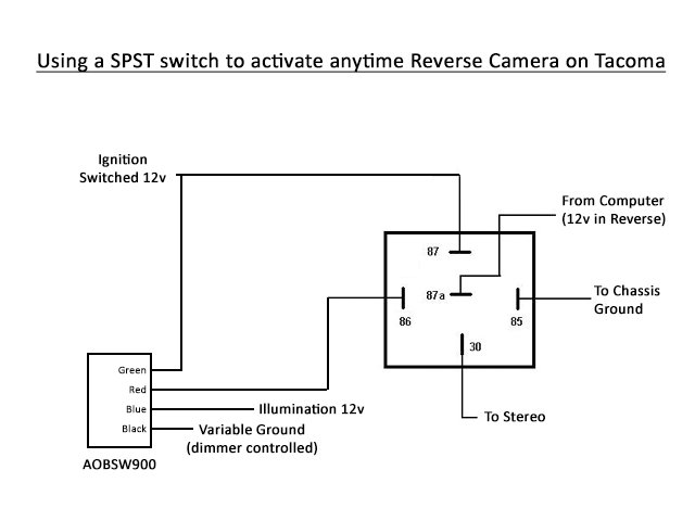 arb reversing camera wiring diagram   35 wiring diagram