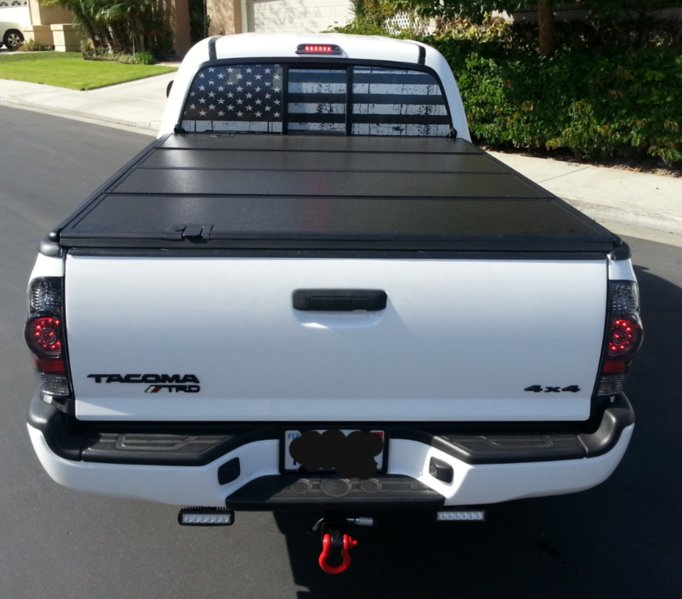 Full Rear Window Decal Tacoma World - Back window decals for trucks
