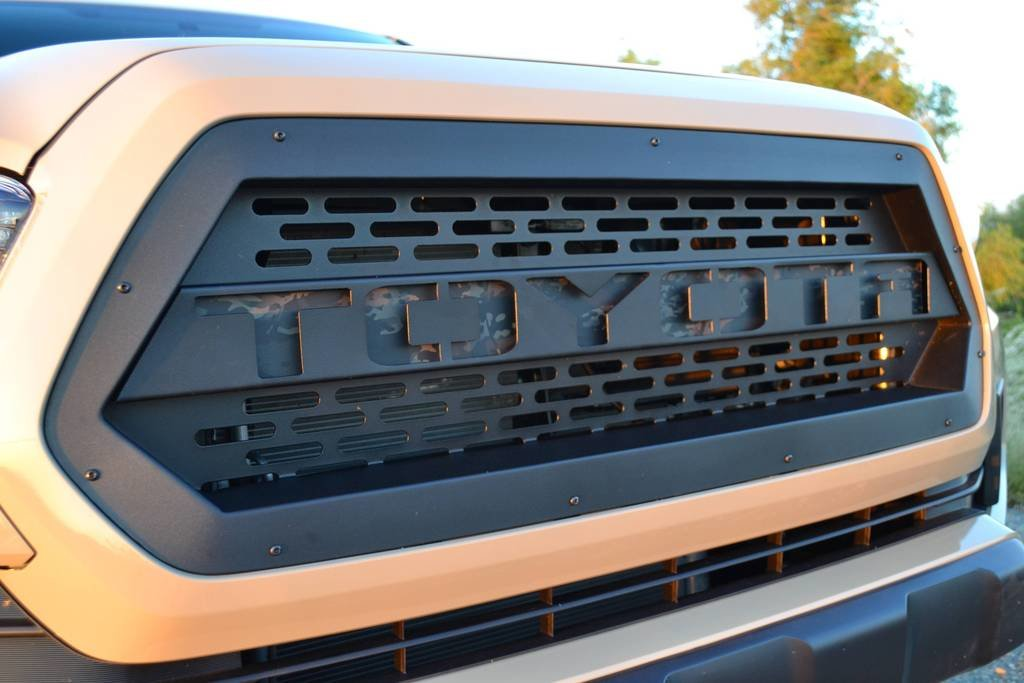 BAMF 3rd Gen Recessed Raptor Style Grille | Tacoma World